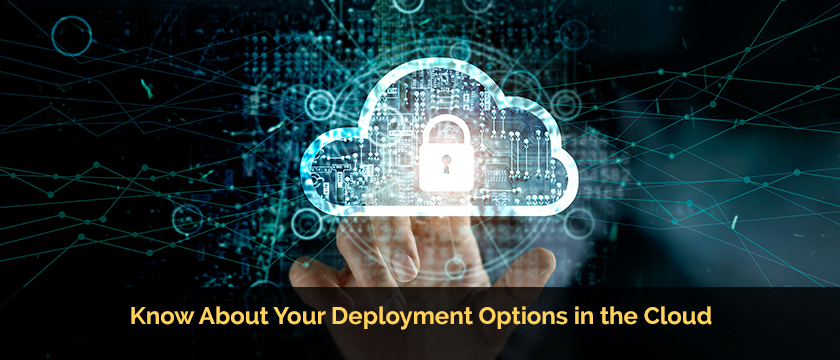 Know About Your Deployment Options in the Cloud